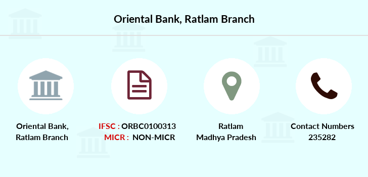 Oriental-bank-of-commerce Ratlam branch