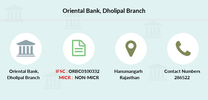 Oriental-bank-of-commerce Dholipal branch