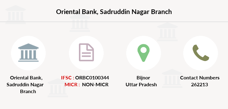 Oriental-bank-of-commerce Sadruddin-nagar branch