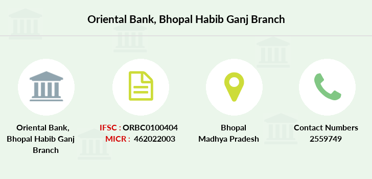 Oriental-bank-of-commerce Bhopal-habib-ganj branch