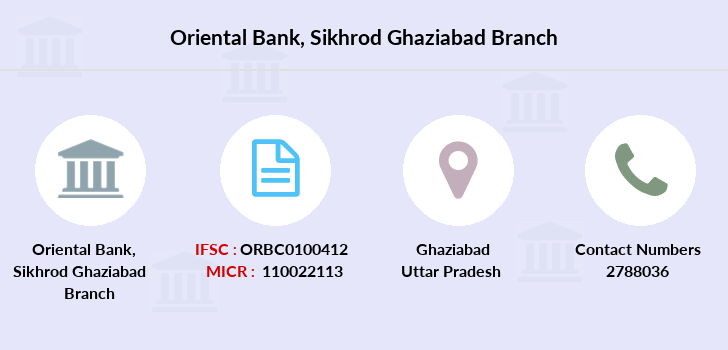 Oriental-bank-of-commerce Sikhrod-ghaziabad branch