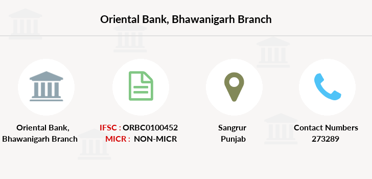 Oriental-bank-of-commerce Bhawanigarh branch