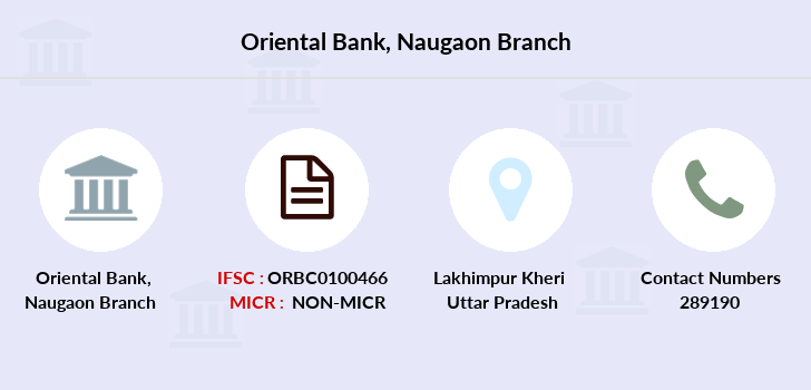 Oriental-bank-of-commerce Naugaon branch