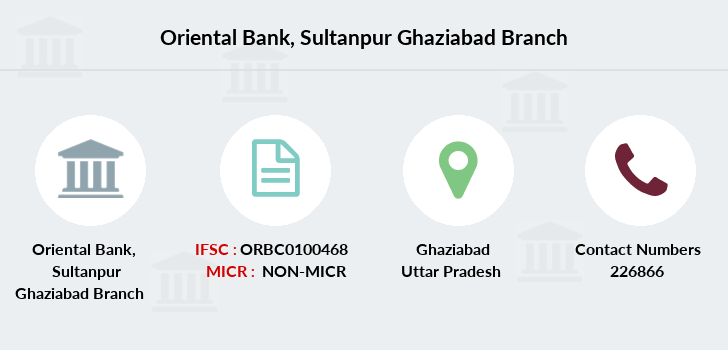Oriental-bank-of-commerce Sultanpur-ghaziabad branch