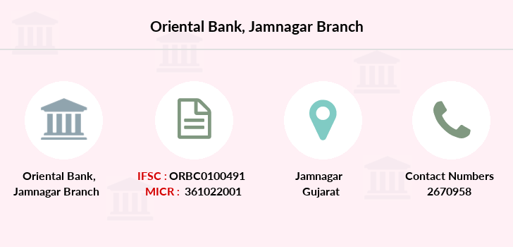 Oriental-bank-of-commerce Jamnagar branch