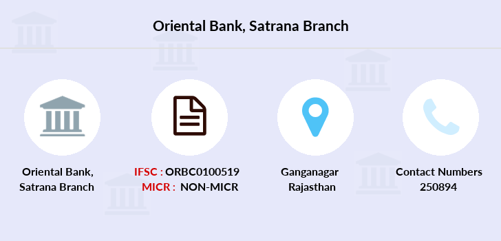 Oriental-bank-of-commerce Satrana branch