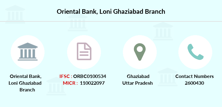 Oriental-bank-of-commerce Loni-ghaziabad branch