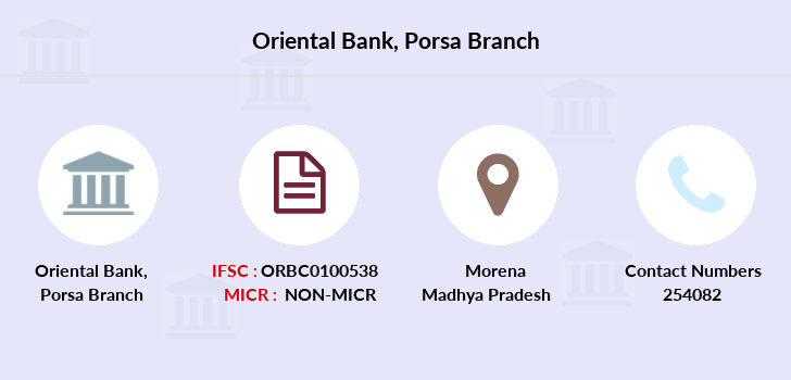 Oriental-bank-of-commerce Porsa branch