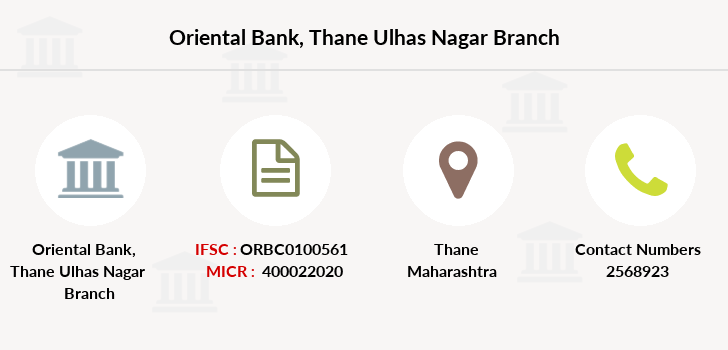 Oriental-bank-of-commerce Thane-ulhas-nagar branch