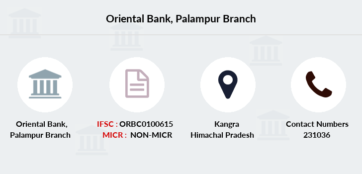 Oriental-bank-of-commerce Palampur branch