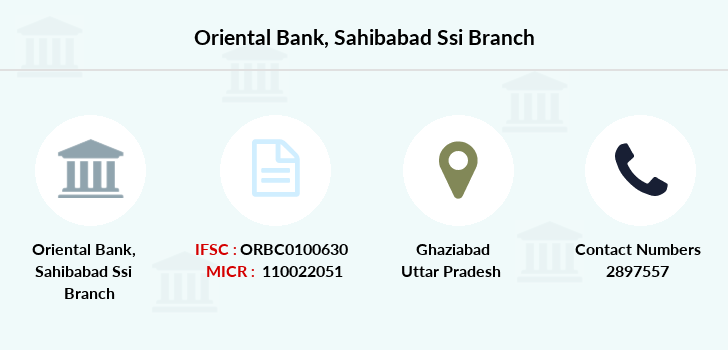 Oriental-bank-of-commerce Sahibabad-ssi branch