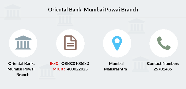Oriental-bank-of-commerce Mumbai-powai branch