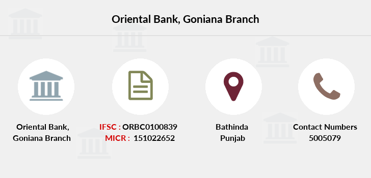 Oriental-bank-of-commerce Goniana branch
