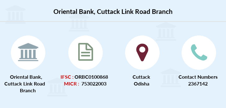Oriental-bank-of-commerce Cuttack-link-road branch