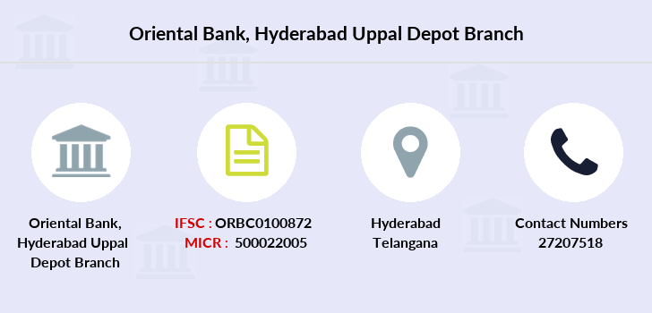 Oriental-bank-of-commerce Hyderabad-uppal-depot branch