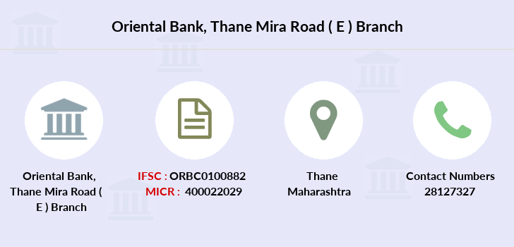 Oriental-bank-of-commerce Thane-mira-road-e branch