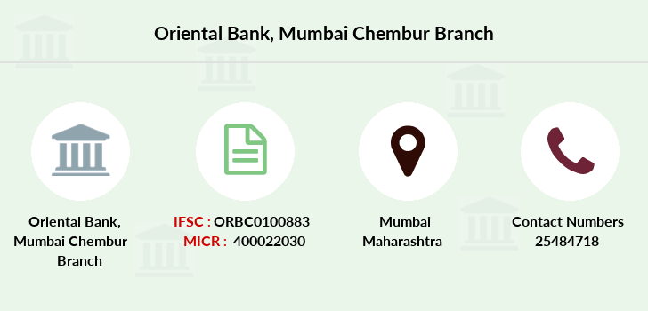 Oriental-bank-of-commerce Mumbai-chembur branch