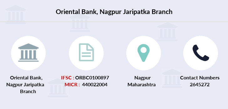 Oriental-bank-of-commerce Nagpur-jaripatka branch