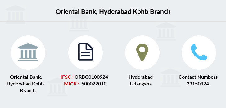 Oriental-bank-of-commerce Hyderabad-kphb branch