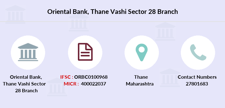 Oriental-bank-of-commerce Thane-vashi-sector-28 branch