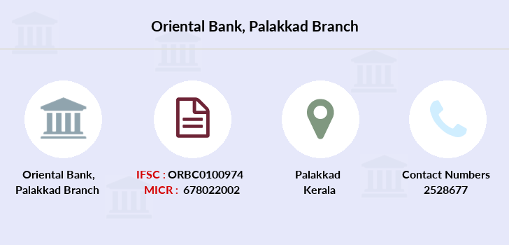 Oriental-bank-of-commerce Palakkad branch