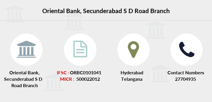 Oriental-bank-of-commerce Secunderabad-s-d-road branch