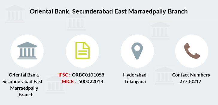 Oriental-bank-of-commerce Secunderabad-east-marraedpally branch