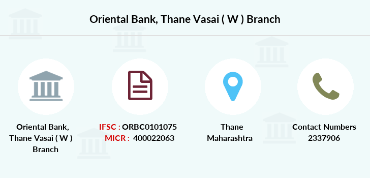 Oriental-bank-of-commerce Thane-vasai-w branch