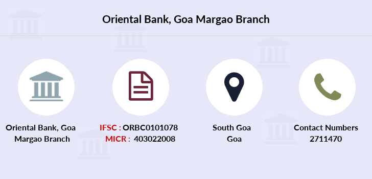 Oriental-bank-of-commerce Goa-margao branch