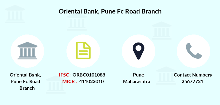 Oriental-bank-of-commerce Pune-fc-road branch