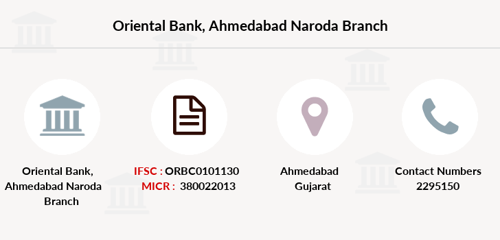 Oriental-bank-of-commerce Ahmedabad-naroda branch
