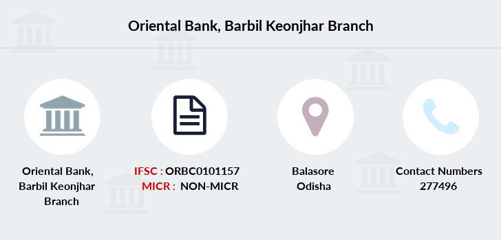 Oriental-bank-of-commerce Barbil-keonjhar branch