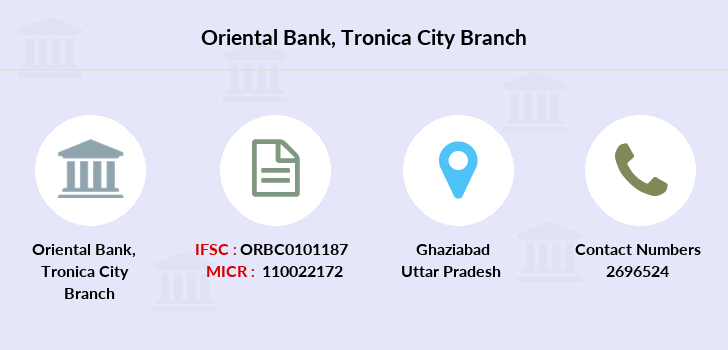 Oriental-bank-of-commerce Tronica-city branch