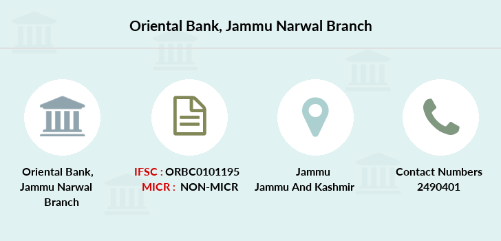Oriental-bank-of-commerce Jammu-narwal branch