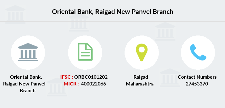 Oriental-bank-of-commerce Raigad-new-panvel branch