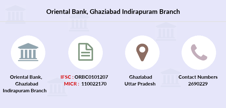 Oriental-bank-of-commerce Ghaziabad-indirapuram branch