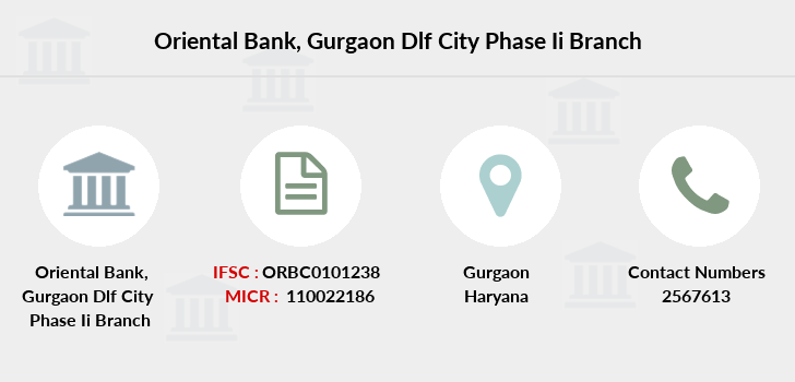 Oriental-bank-of-commerce Gurgaon-dlf-city-phase-ii branch
