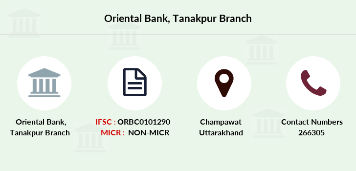 Oriental-bank-of-commerce Tanakpur branch