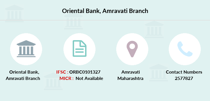 Oriental-bank-of-commerce Amravati branch