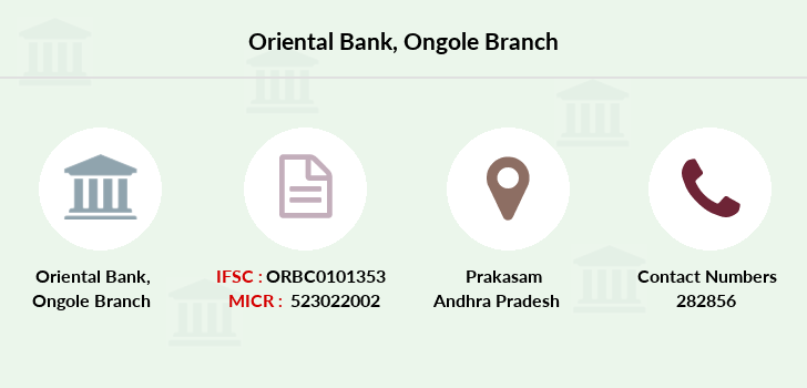 Oriental-bank-of-commerce Ongole branch