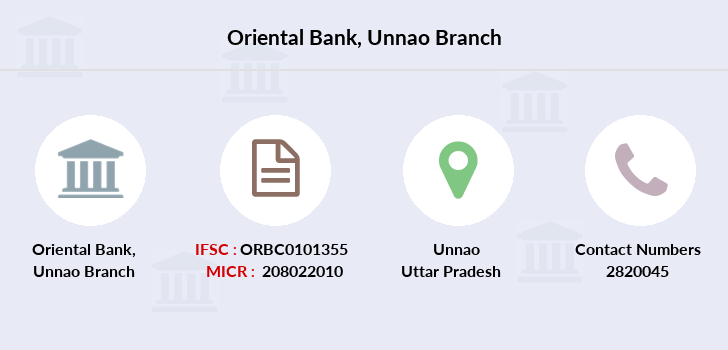 Oriental-bank-of-commerce Unnao branch