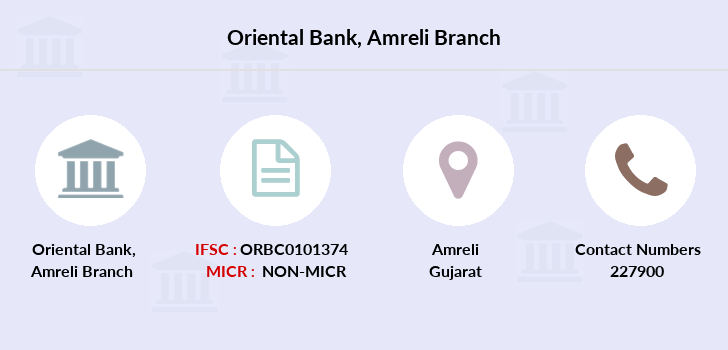 Oriental-bank-of-commerce Amreli branch