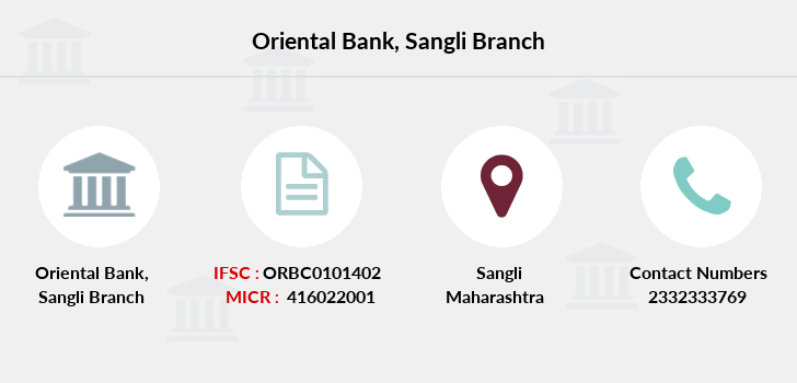 Oriental-bank-of-commerce Sangli branch