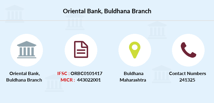 Oriental-bank-of-commerce Buldhana branch