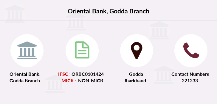 Oriental-bank-of-commerce Godda branch