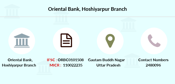 Oriental-bank-of-commerce Hoshiyarpur branch
