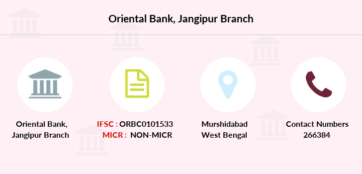 Oriental-bank-of-commerce Jangipur-murshidabad branch