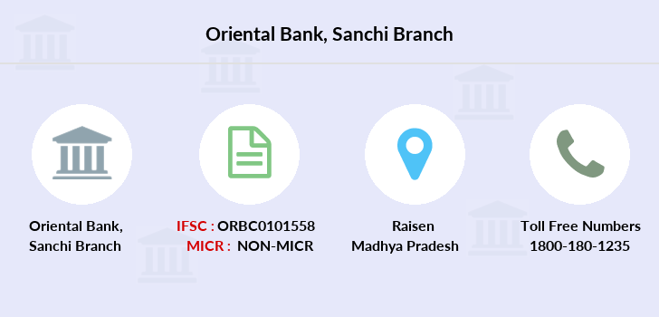 Oriental-bank-of-commerce Sanchi branch