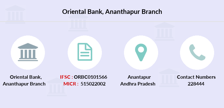Oriental-bank-of-commerce Ananthapur branch