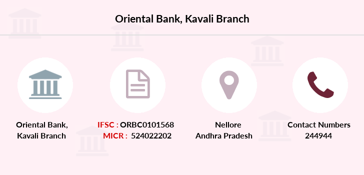 Oriental-bank-of-commerce Kavali branch